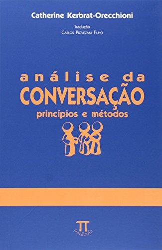 Análise da conversação - princípios e métodos, livro de Catherine Kerbrat-Orecchioni