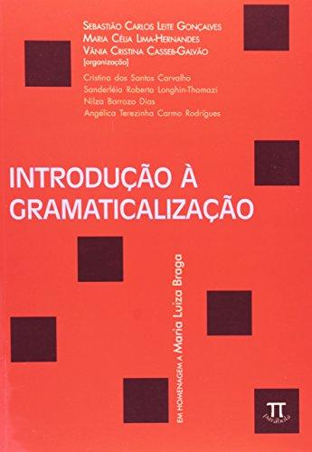 INTRODUCAO A GRAMATICALIZACAO, livro de VV.AA.