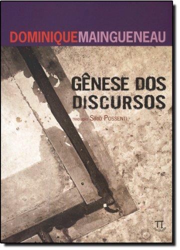 GENESE DOS DISCURSOS, livro de MAINGUENEAU, DOMINIQUE