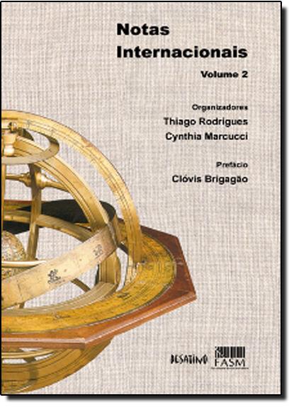 Notas Internacionais - Vol.2, livro de Thiago Rodrigues