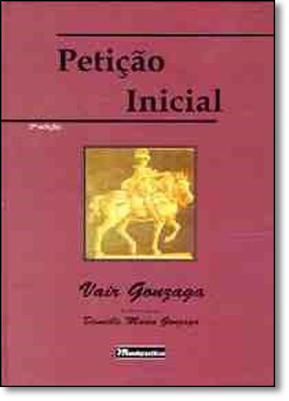 Petição Inicial, livro de Vair Gonzaga