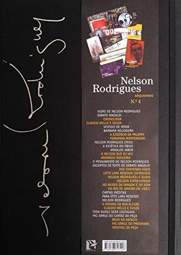 Arquivinho. Nelson Rodrigues (+ DVD), livro de Claudio Mello e Souza