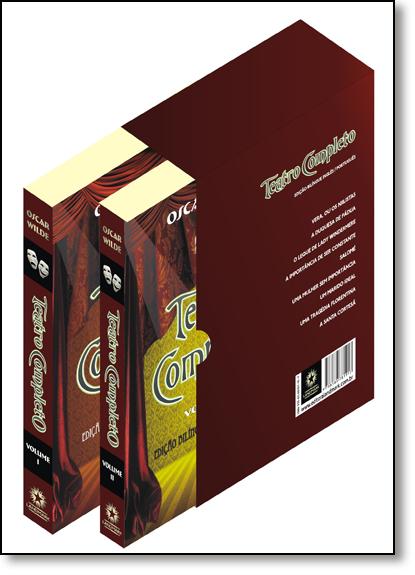 Box Teatro Completo - 2 Volumes - Caixa Especial, livro de Oscar Wilde