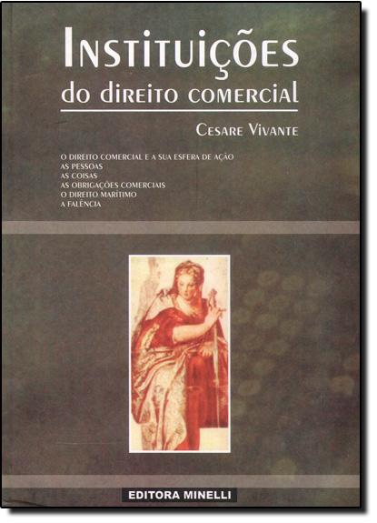 Instituicões de Direito Comercial, livro de Cesare Vivante