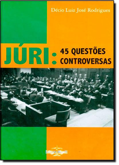 Juri- 45 Questoes Controversas, livro de Mayra Rodrigues Gomes 1