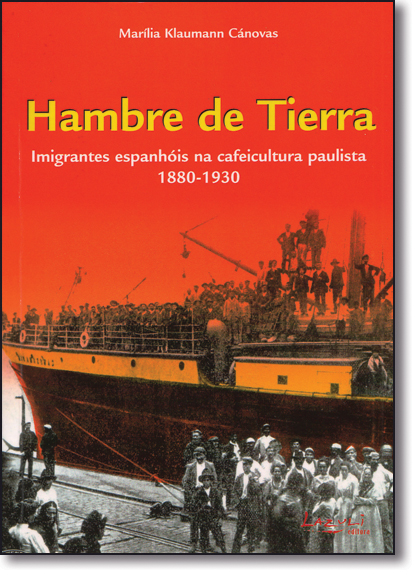 HAMBRE DE TIERRA, livro de CANOVAAS