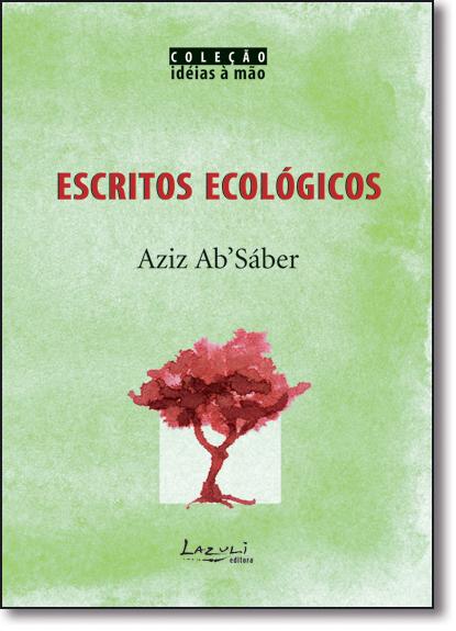ESCRITOS ECOLOGICOS, livro de SABER