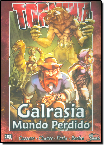 Galrasia Mundo Perdido, livro de Jambo