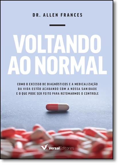Voltando ao Normal, livro de Allen Frances