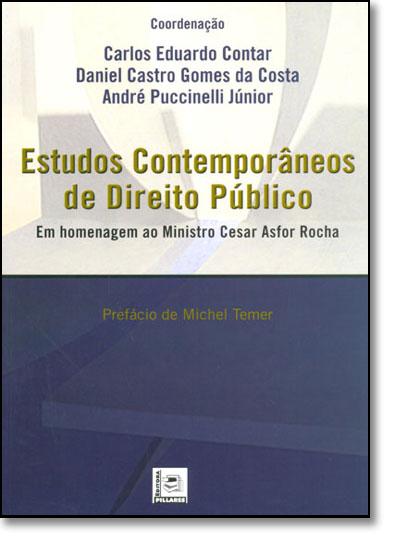 Estudos Contemporaneos de Direito Publico, livro de Michel Temer