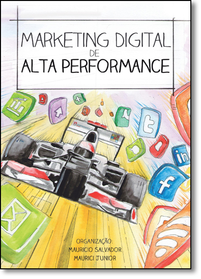 Marketing Digital de Alta Performance, livro de Mauricio Salvador