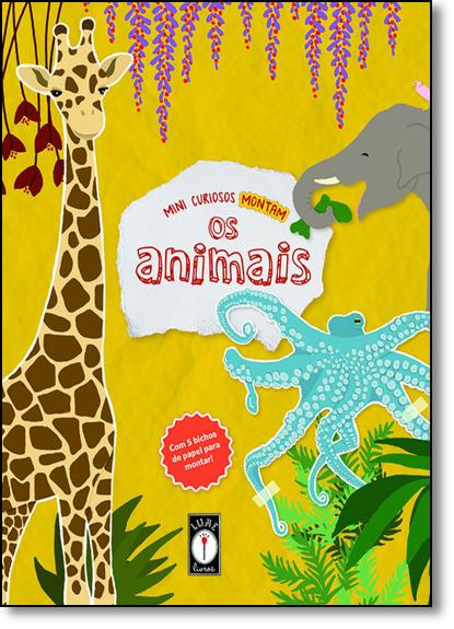 Mini Curiosos Montam os Animais, livro de Suzana Ferreira