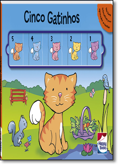 Cinco Gatinhos - Coleção Deslize e Aprenda, livro de Small World Creations