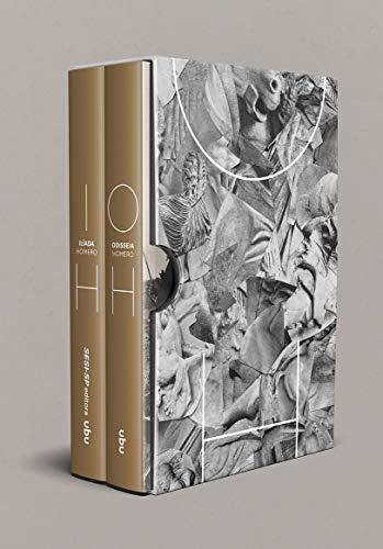 Box Homero - Ilíada e Odisseia, livro de Homero