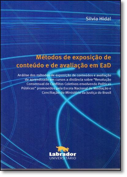Métodos de Exposição de Conteúdos, livro de Silvia  Hidal