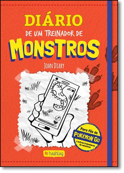 Diário de um Treinador de Monstros, livro de John Diary