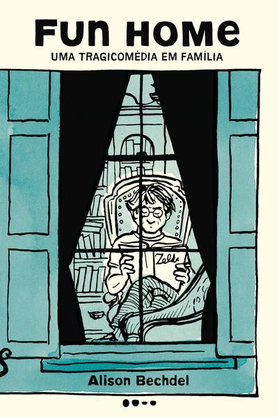 Fun home - Uma tragicomédia em família, livro de Alison Bechdel