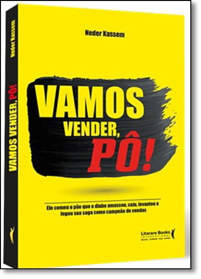 Vamos Vender, Pô!, livro de Neder Kassem
