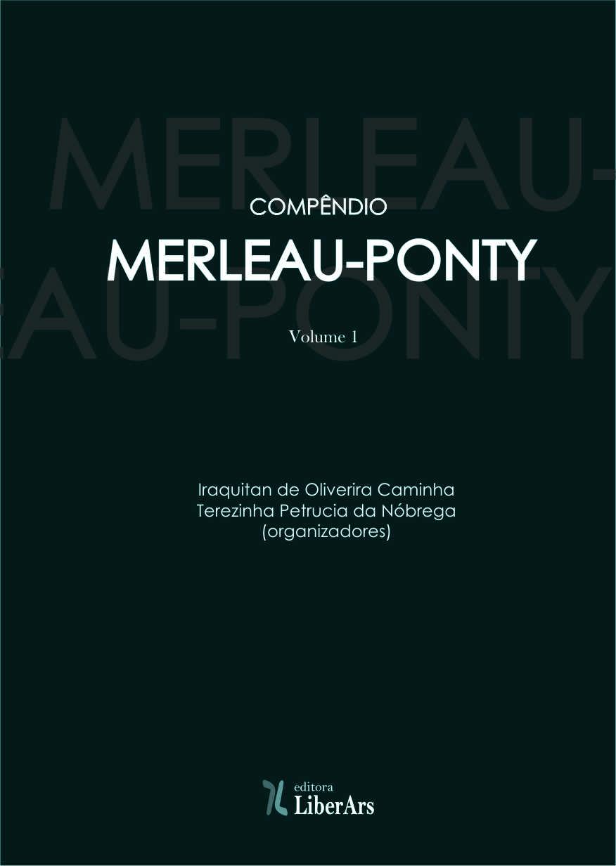 Compêndio Merleau-Ponty, livro de Iraquitan de Oliveira Caminha, Terezinha Petrúcia da Nóbrega (orgs.)