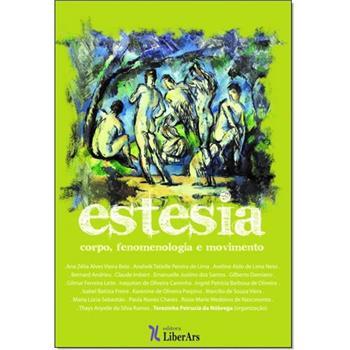 Estesia - Corpo e Fenomenologia em Movimento, livro de Terezinha Petrúcia da Nóbrega