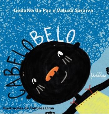 Cabelo Belo, livro de Gedalva Paz, Valuza Saraiva