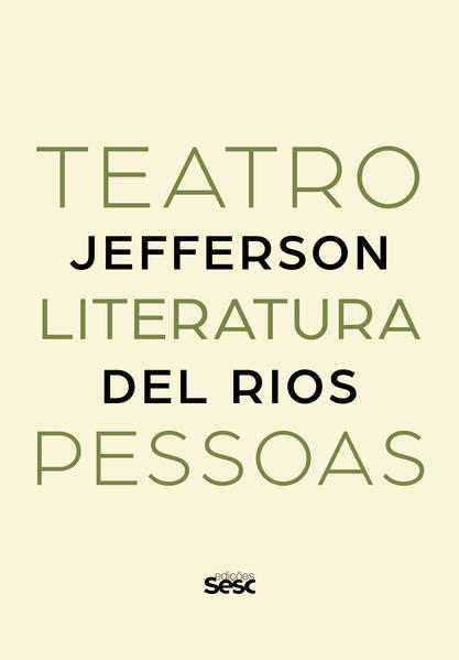 Teatro, Literatura, Pessoas, livro de Jefferson Del Rios
