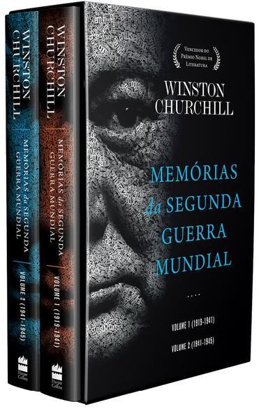Box Memórias da Segunda Guerra Mundial, livro de Winston Churchill