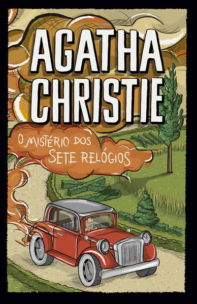 O mistério dos sete relógios, livro de Agatha Christie