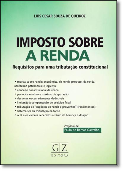 Imposto Sobre a Renda, livro de Luis Cesar Souza de Queiroz