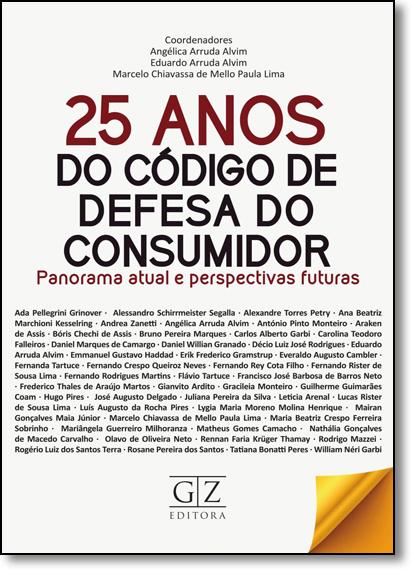 25 Anos do Código de Defesa do Consumidor, livro de Angélica Arruda Alvim