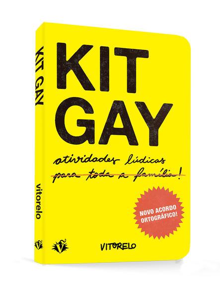 Kit Gay, livro de Vitorelo .