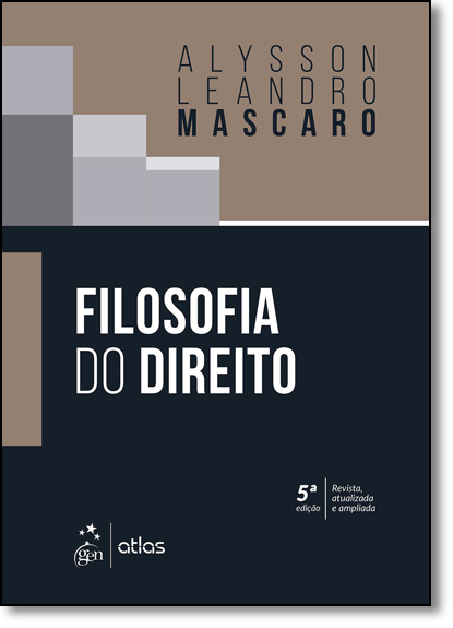 Filosofia do Direito, livro de Alysson Leandro Mascaro