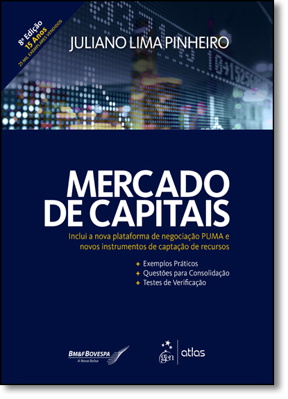 Mercado de Capitais, livro de Juliano Lima Pinheiro