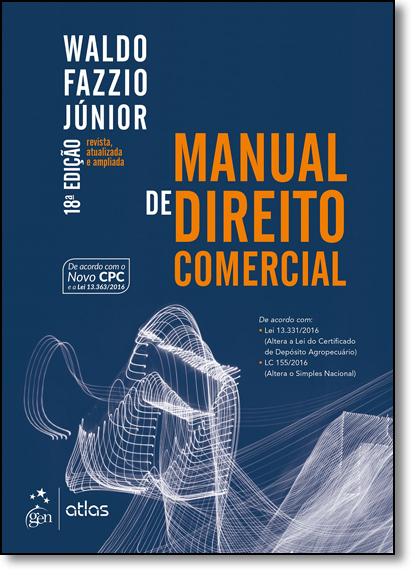 Manual de Direito Comercial, livro de Waldo Fazzio Júnior