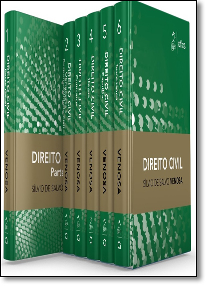 Coleção de Direito Civil - 6 Volumes, livro de Sílvio de Salvo Venosa