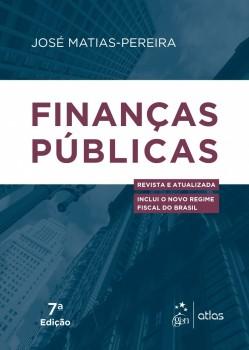 Finanças públicas - 7ª edição, livro de José Matias-Pereira