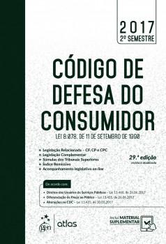 Código de Defesa do Consumidor - Lei 8.078. de 11 de setembro de 1990 - 29ª edição, livro de Equipe Atlas