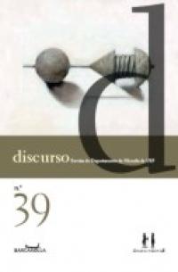 Revista discurso 39, livro de Departamento de Filosofia da USP