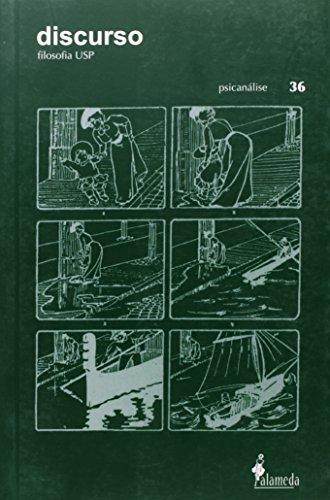 Revista Discurso 36 - Psicanálise, livro de FFLCH
