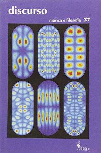 Revista Discurso 37 - Música e Filosofia, livro de FFLCH