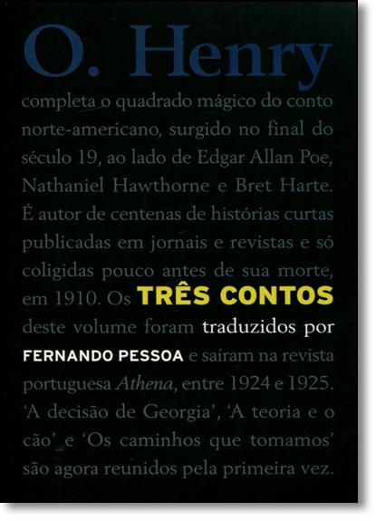 Três Contos, livro de Fernando Pessoa