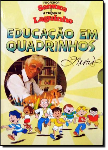 Educação em Quadrinhos, livro de Samuel Ramos Lago
