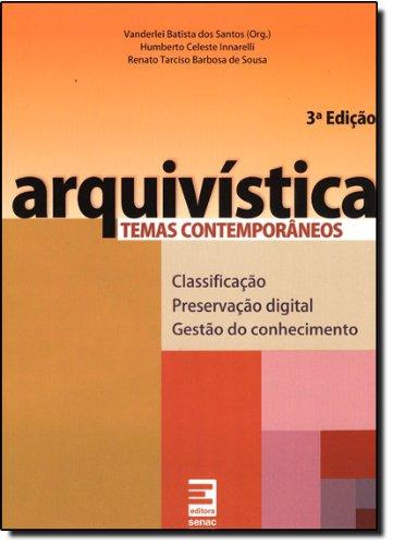 Arquivística, livro de Renato Sousa