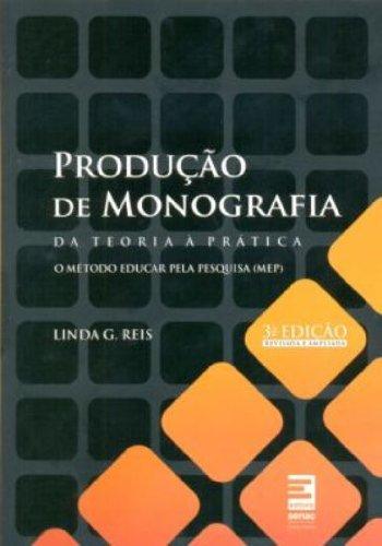 Produção De Monografia, livro de Luiz Sanz