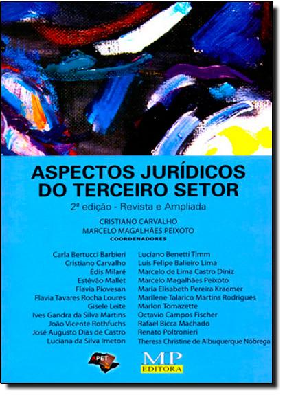 Aspectos Jurídicos do Terceiro Setor, livro de Cristiano Carvalho