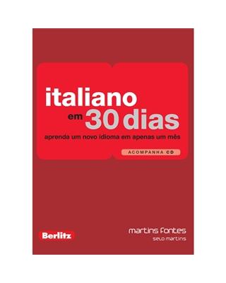 Italiano em 30 Dias, livro de Berlitz