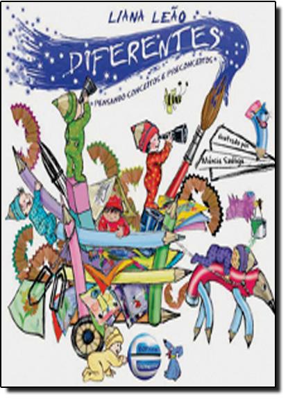 Diferentes: Pensando Conceitos e Preconceitos, livro de Liana Leão