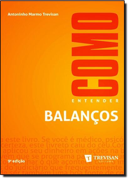 Como Entender Balanços, livro de Antoninho Marmo Trevisan