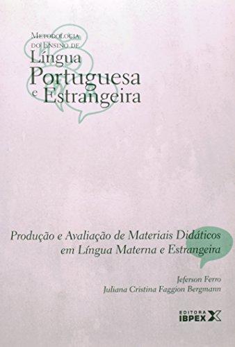 PRODUÇÃO E AVAL DE MAT DIDAT LINGUA MATERNA E ESTRANGEIRA - VOL 04, livro de