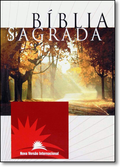 Bíblia Sagrada Nvi Média - Capa Brochura, livro de SBI - Sociedade Bíblica Internacional